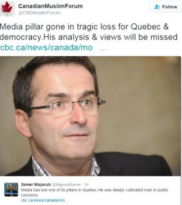 Jean Lapiere tweet